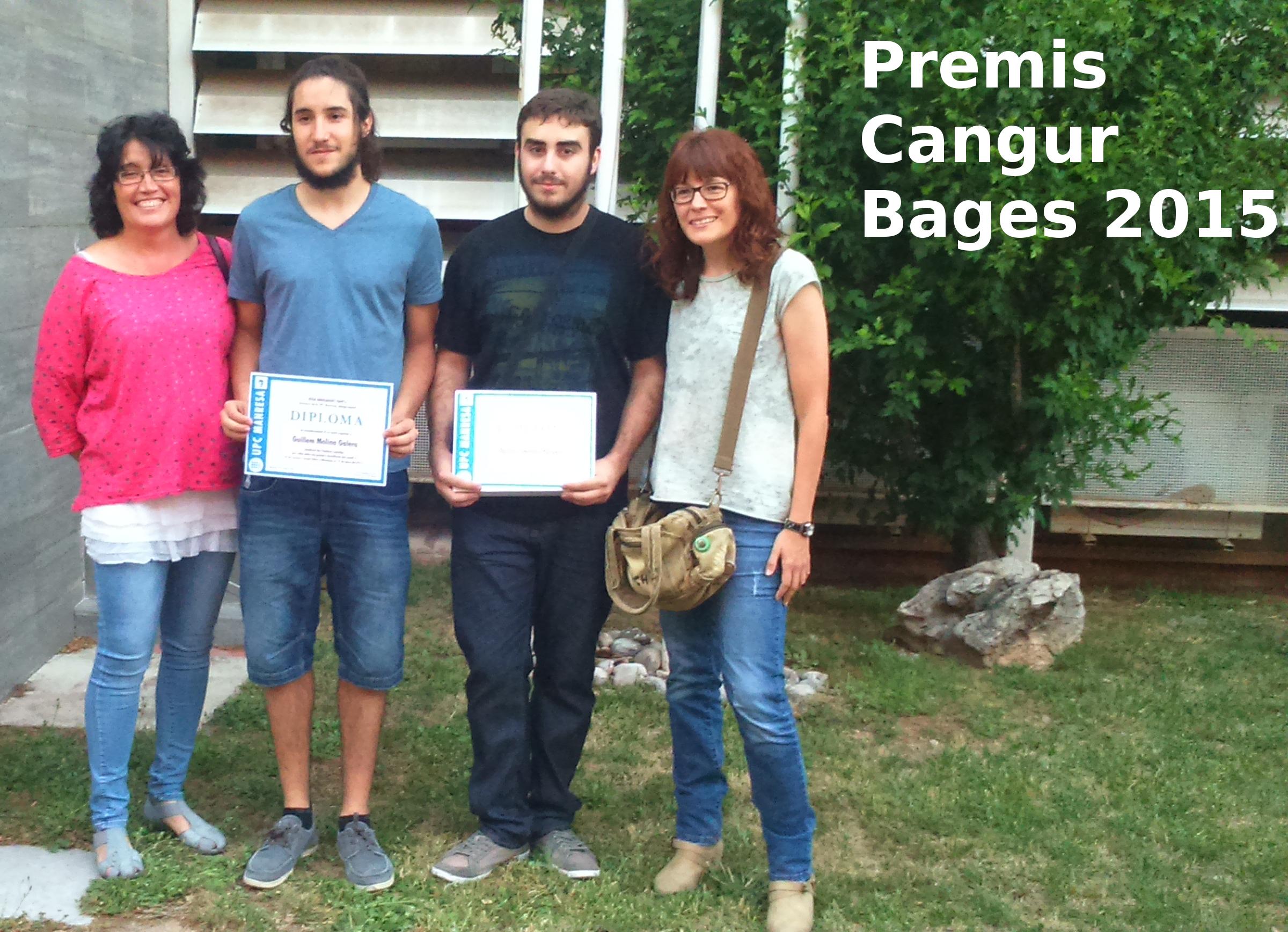 Entrega premis Cangur 2015