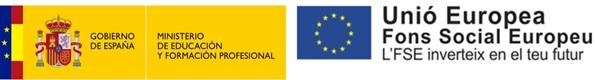 Ministerio de educación / Fons Social Europeu