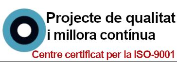 Projecte de Qualitat i Millora Contínua